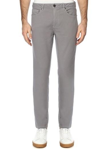 George Hogg Erkek 7004092 Slim Fit Casual Pantolon Gri